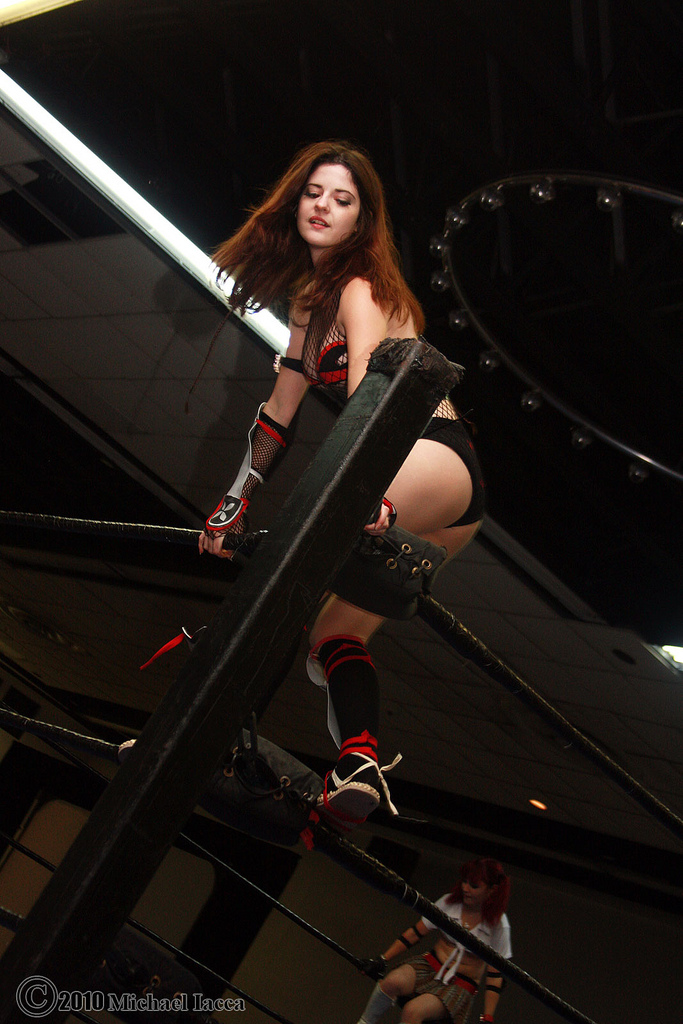 rumble roses, girl, sexy, wrestling, videogame, bloogy shadow, cosplay