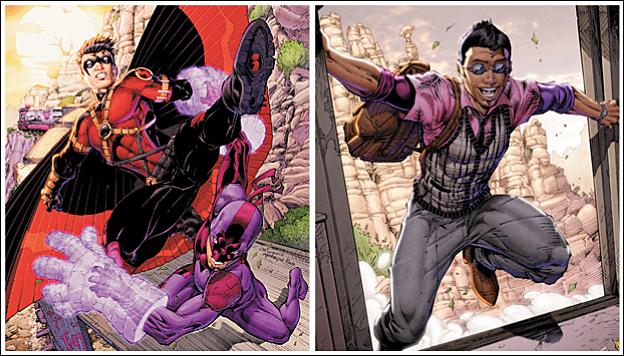 Bunker, superheroe gay de Teen Titans