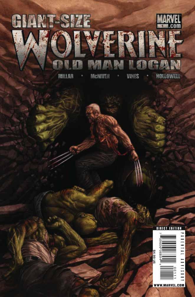 Old man Logan Wolverine #57
