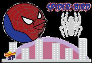 Spider-Man Superheroes estilo Angry Birds