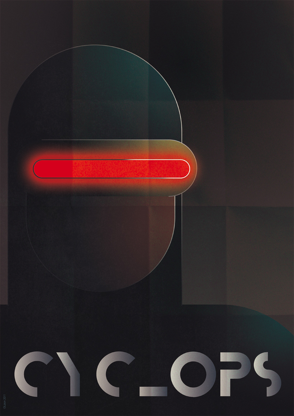 Cyclops Art Deco
