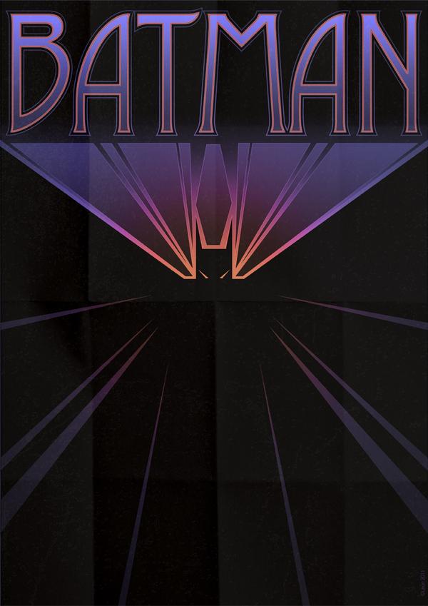Batman Art Deco