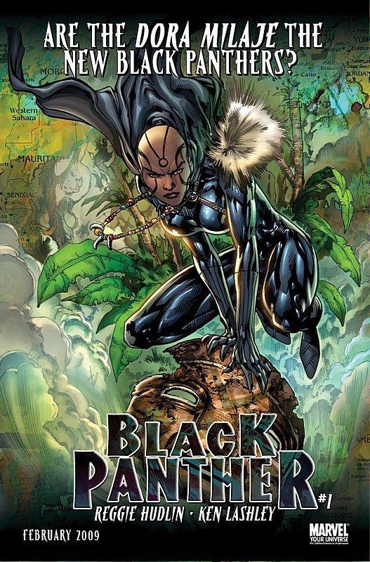 Dora Milaje the new Black Panther?