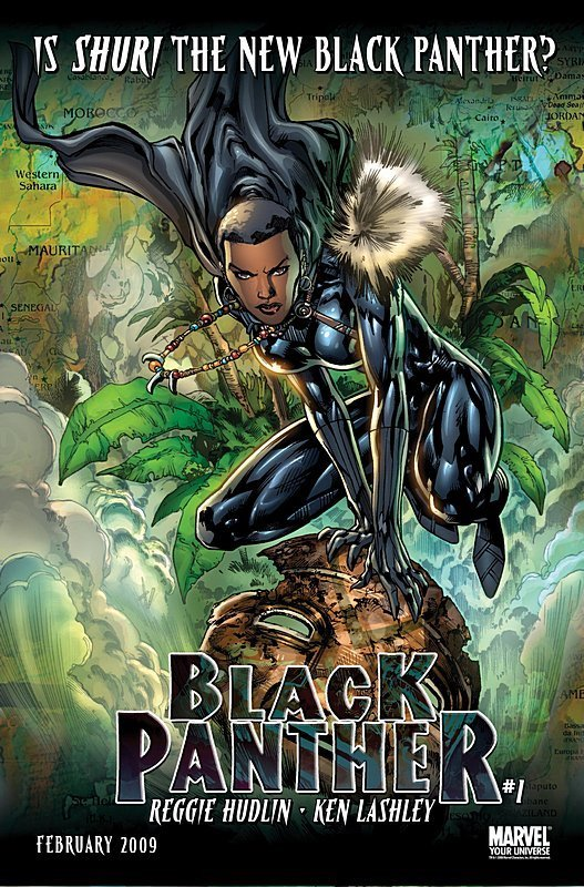 Shuri the new Black Panther?