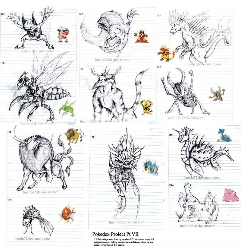 Proyecto Pokédex: pokémones reales por Luis Merlo