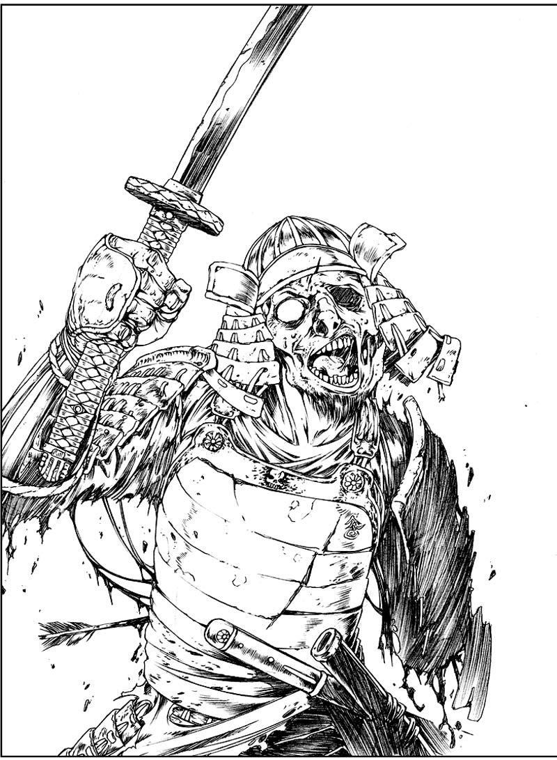zombie ninja