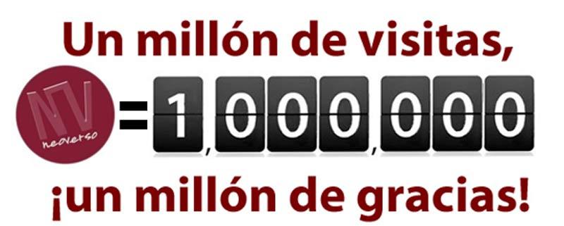 Un millón de visitas!