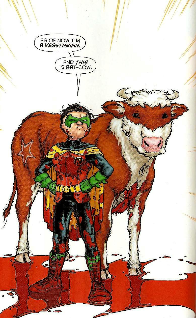 La bati-vaca