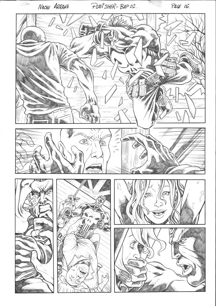 The Punisher es un ejemplo de Heroe de Accion