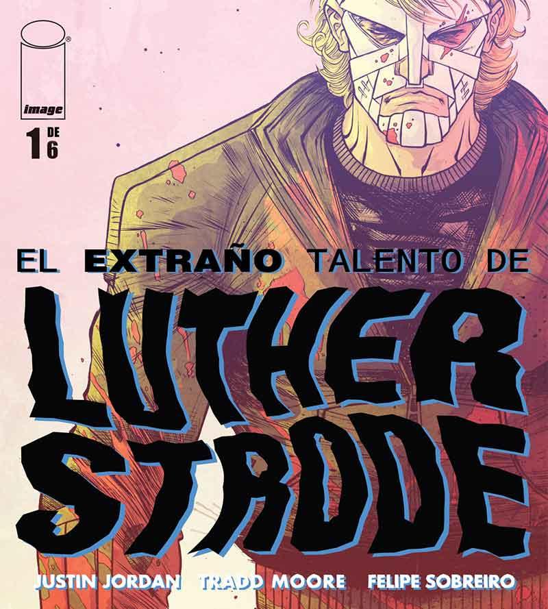 El Extraño Talento de Luther Strode Portada
