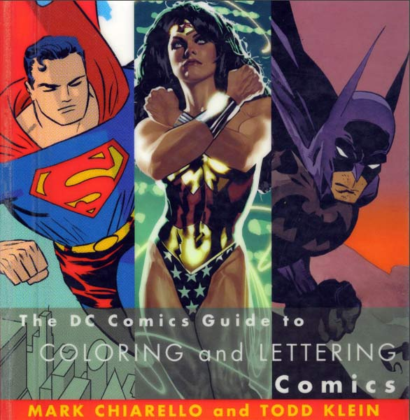 DC comics Guide to Coloring and Lettering