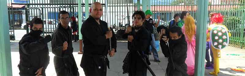 Bujinkan, ninjas verdaderos en Costa Rica