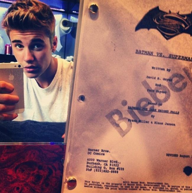 Justine Bieber NO será Robin.