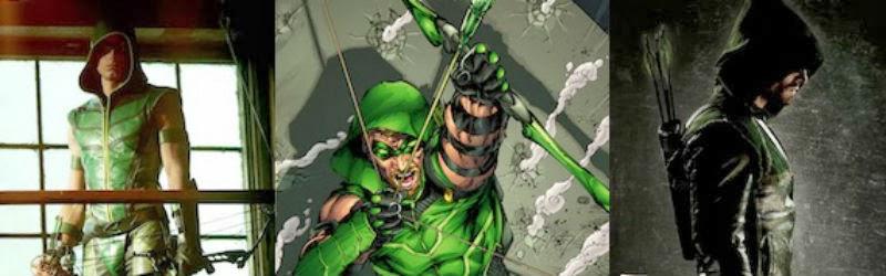 Arrow versus Green Arrow.