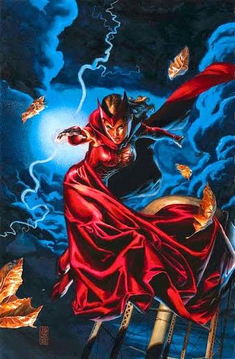 Scarlet Witch Las mejores Brujas