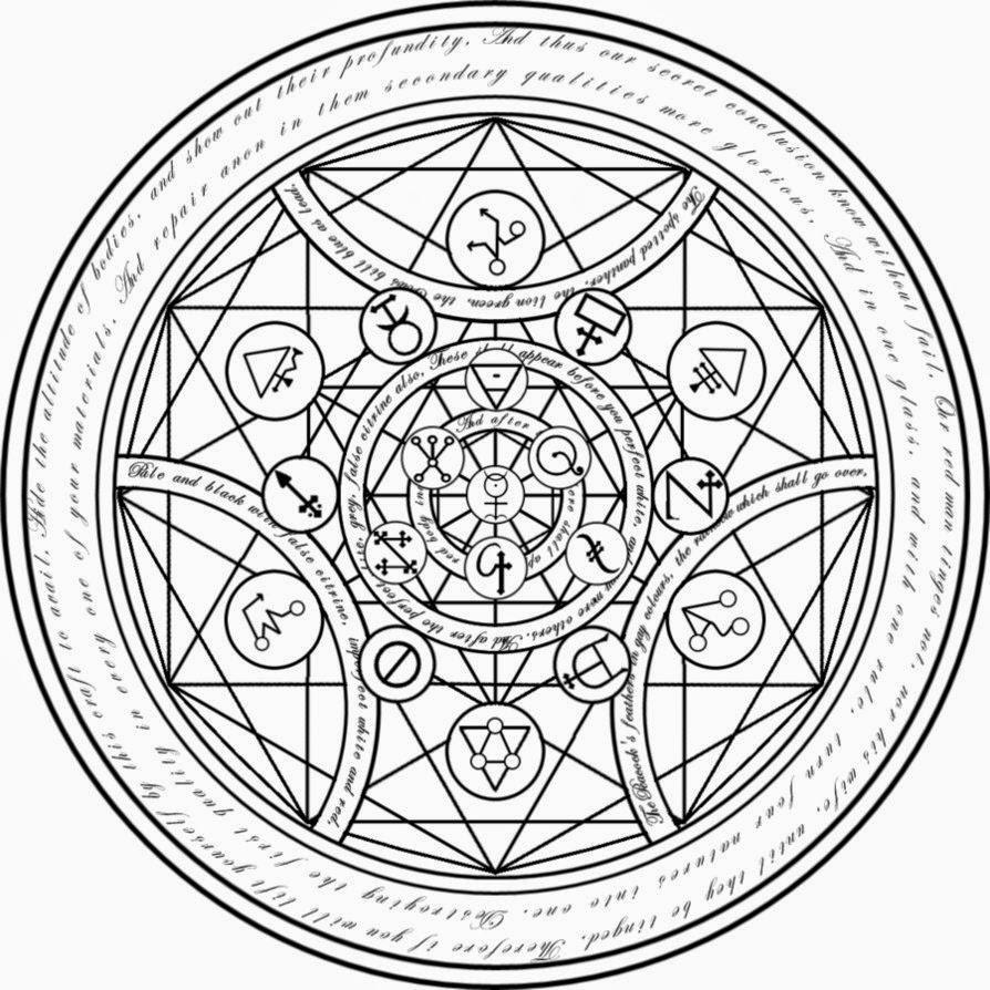 Círculo de transmutación