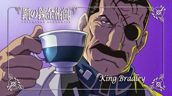 Full Metal Alchemist Brotherhood King Bradley