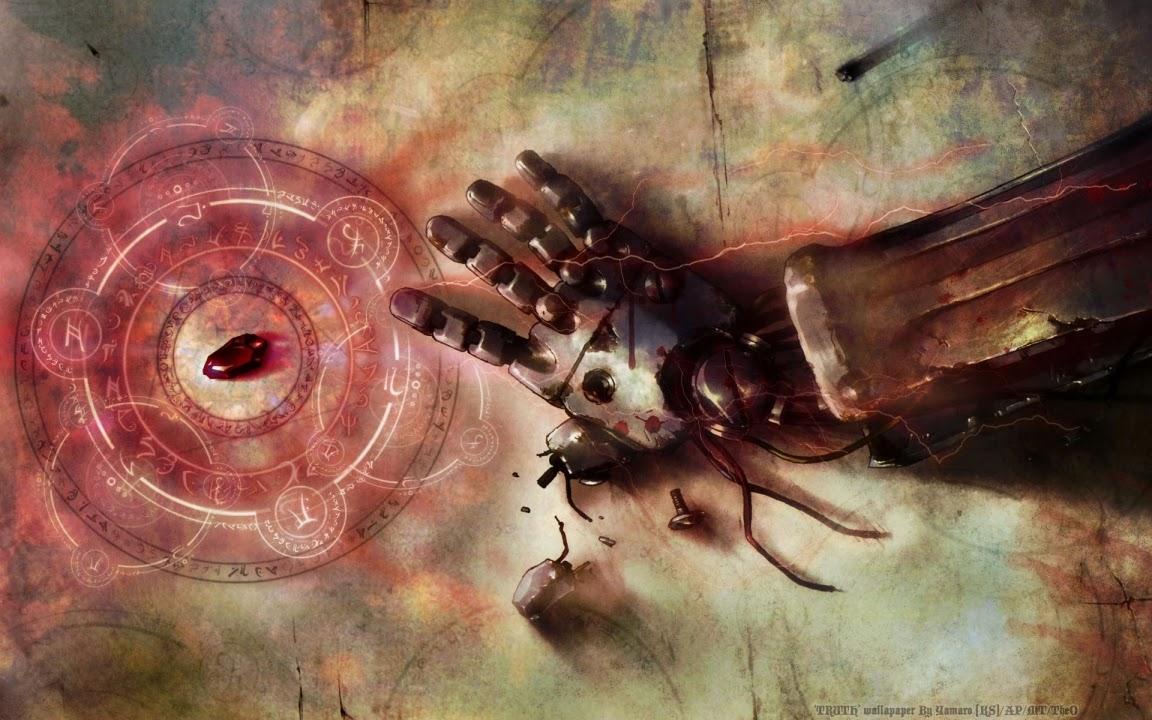Full Metal Alchemist Brotherhood Piedra filosofal