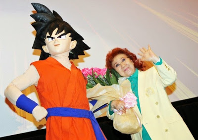 La madre de Goku
