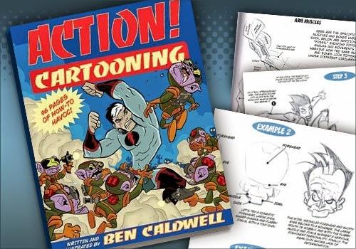 [Descarga] Action Cartooning, Ben Caldwell.