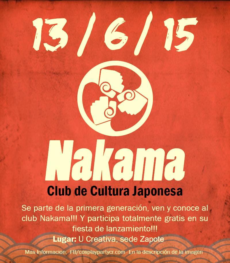 [Eventos] Lanzamiento del Club Nakama por Cosparty