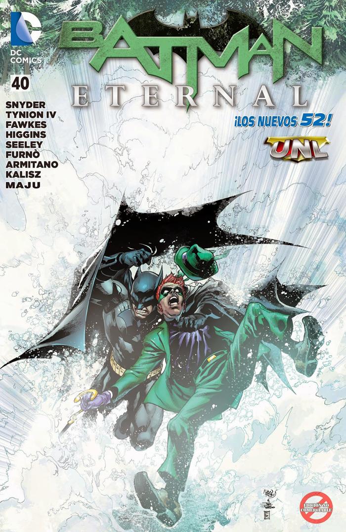 """[Descarga] [Spoilers] """"Batman Eternamente #40"""" La Respuesta Equivocada"""