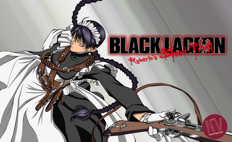 Black lagoon Roberta's blood trail