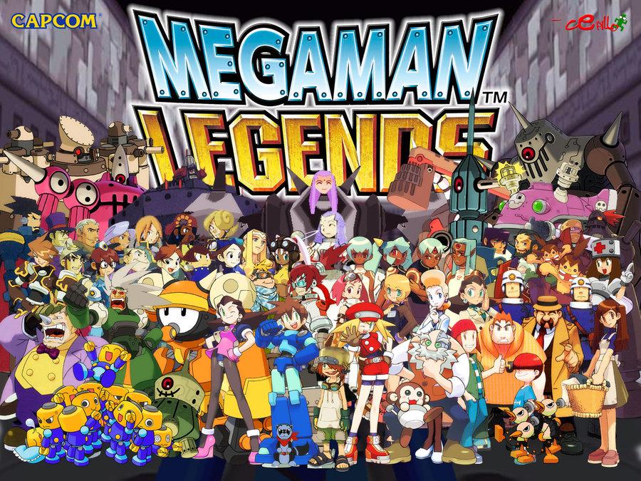 Megaman Legends lore