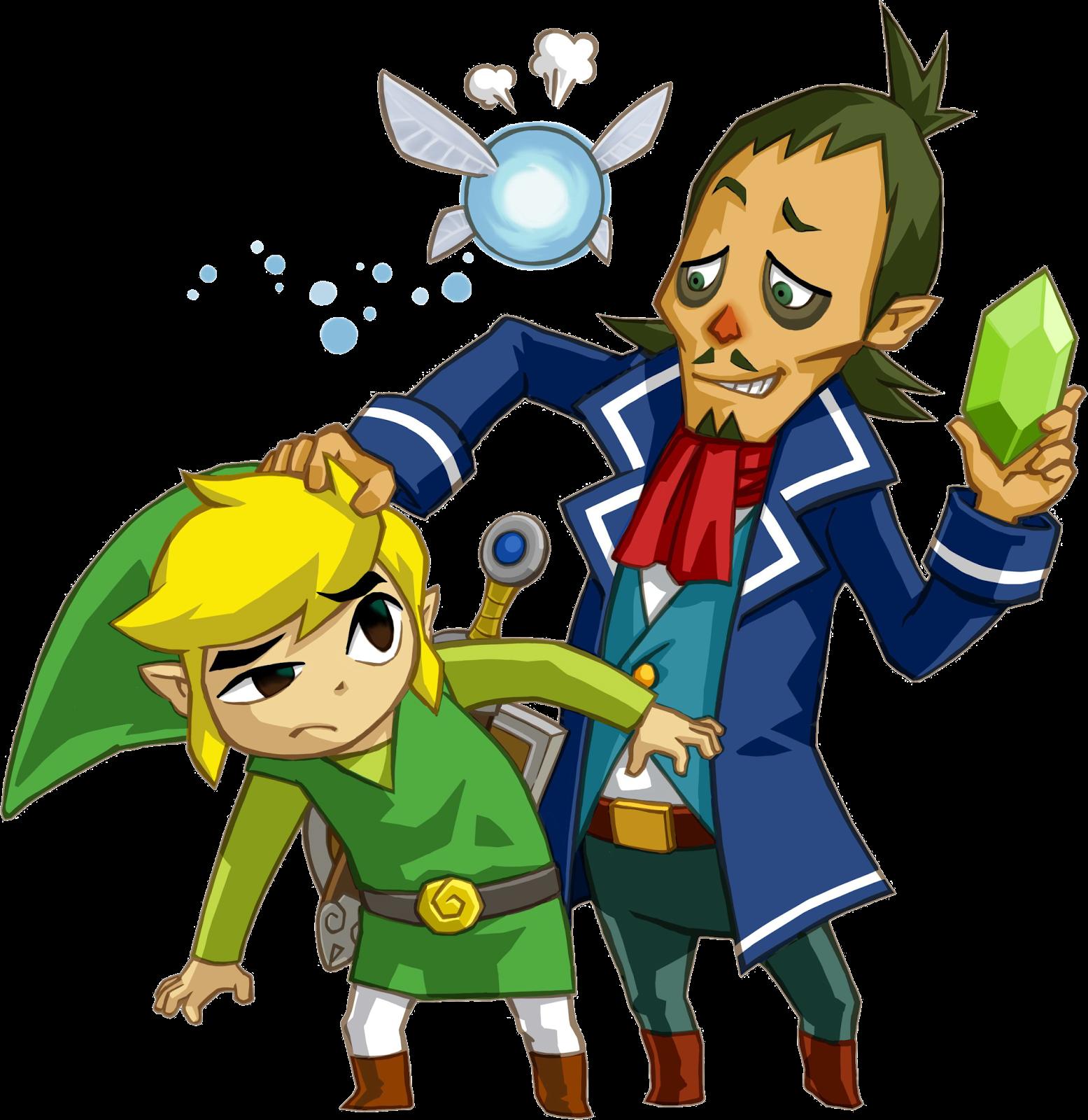 Legend of Zelda Link Linebeck Ciela