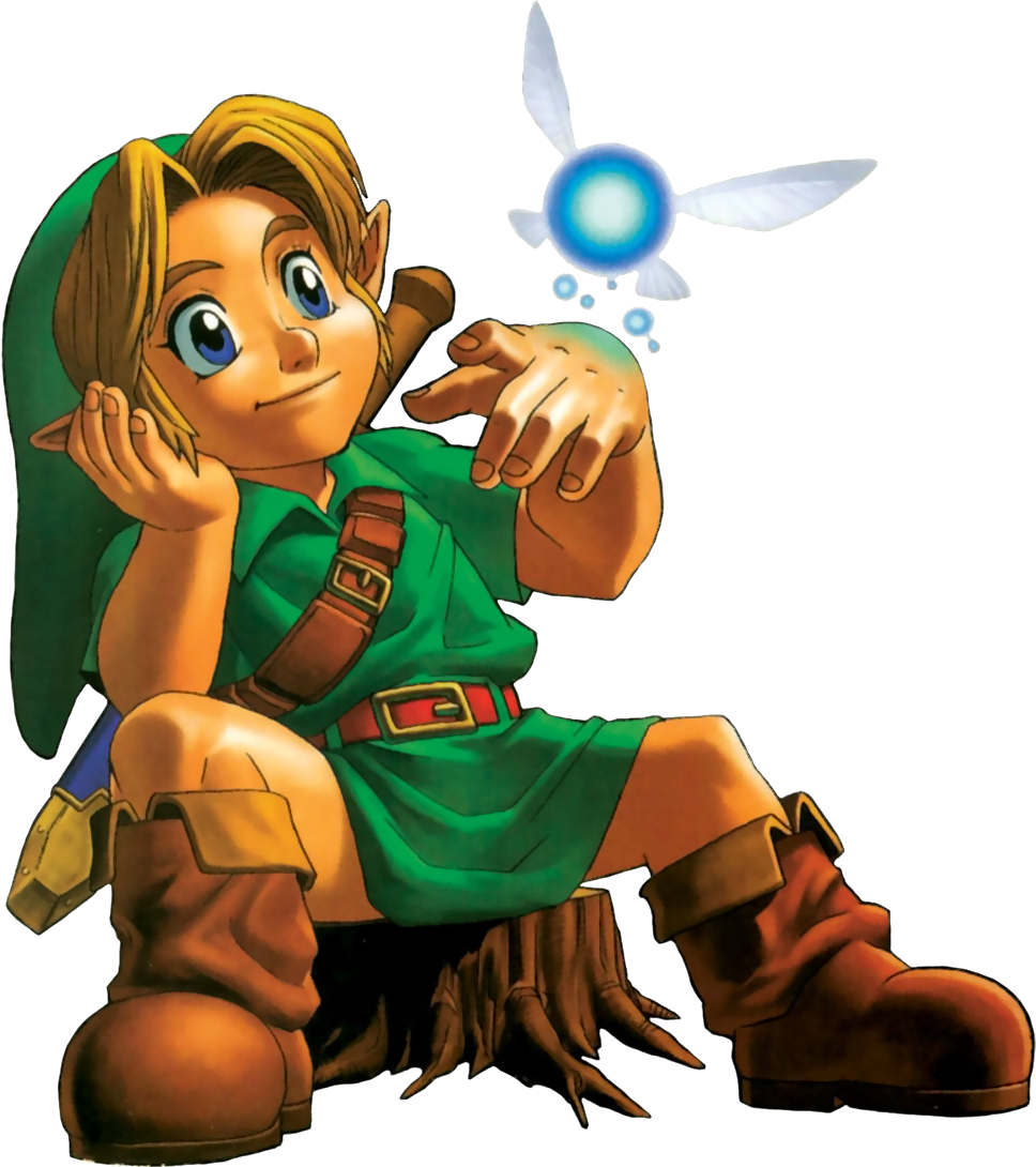 Legend of Zelda Link Navi