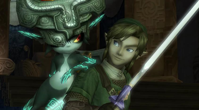 Legend of Zelda Link Midna