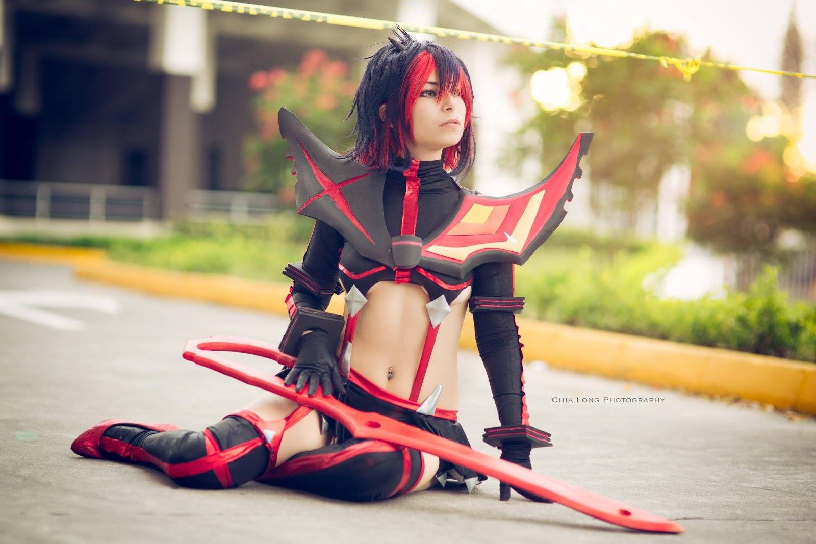 ryuko matoi cosplay by mary magika
