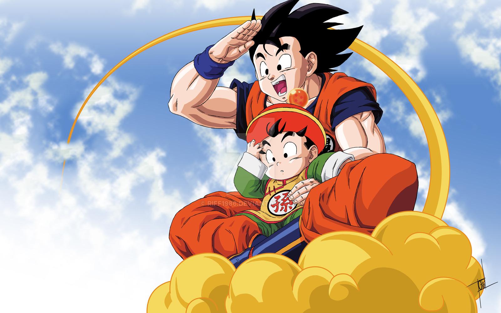 Goku & gohan wallpaper hd