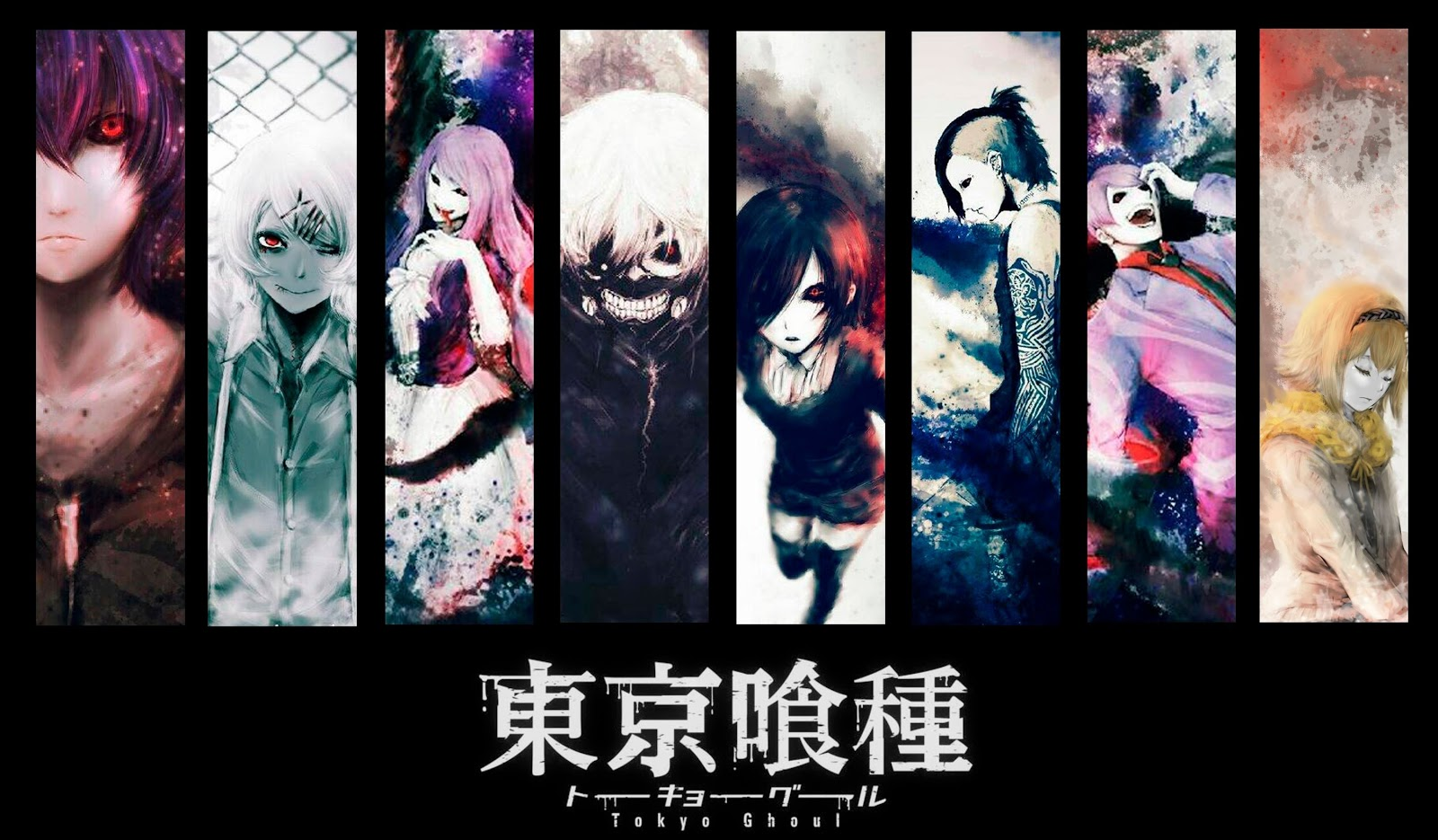 Tokyo Ghoul characters wallpaper hd