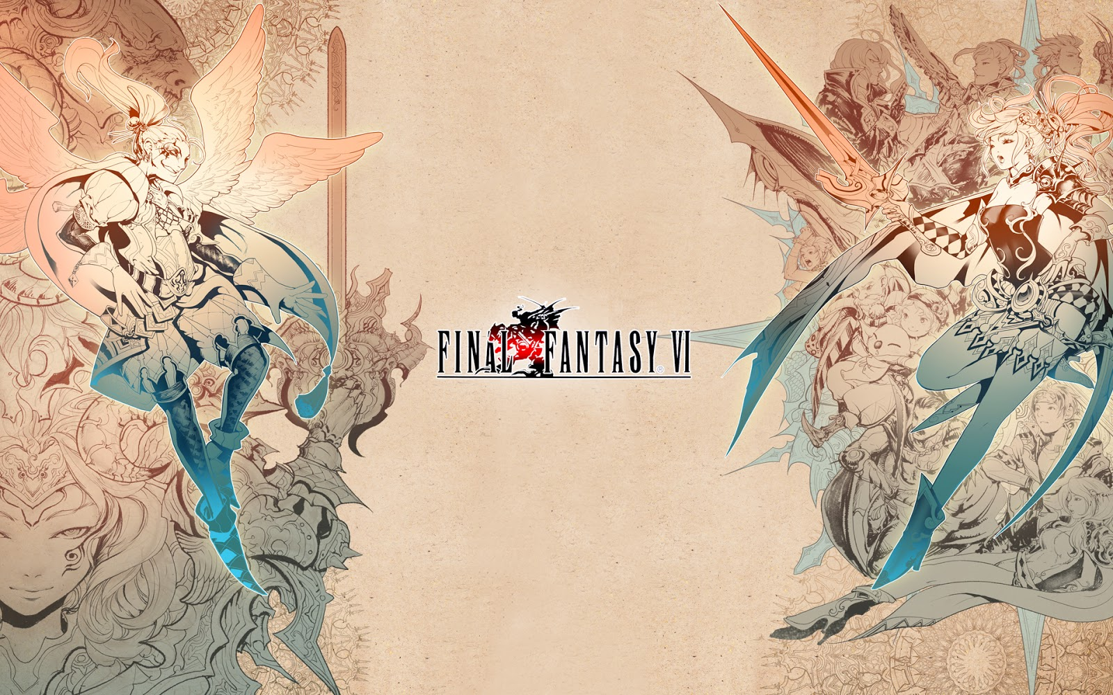 Final Fantasy VI wallpaper hd
