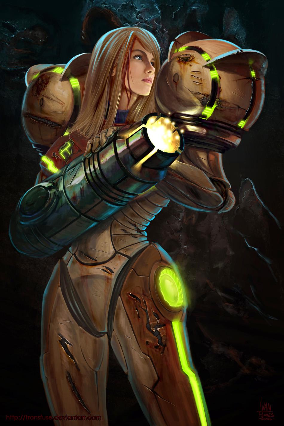 Samus Aran Metroid wallpaper hd