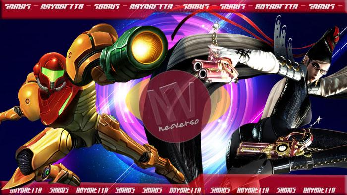 Samus Aran vs Bayonetta wallpaper hd