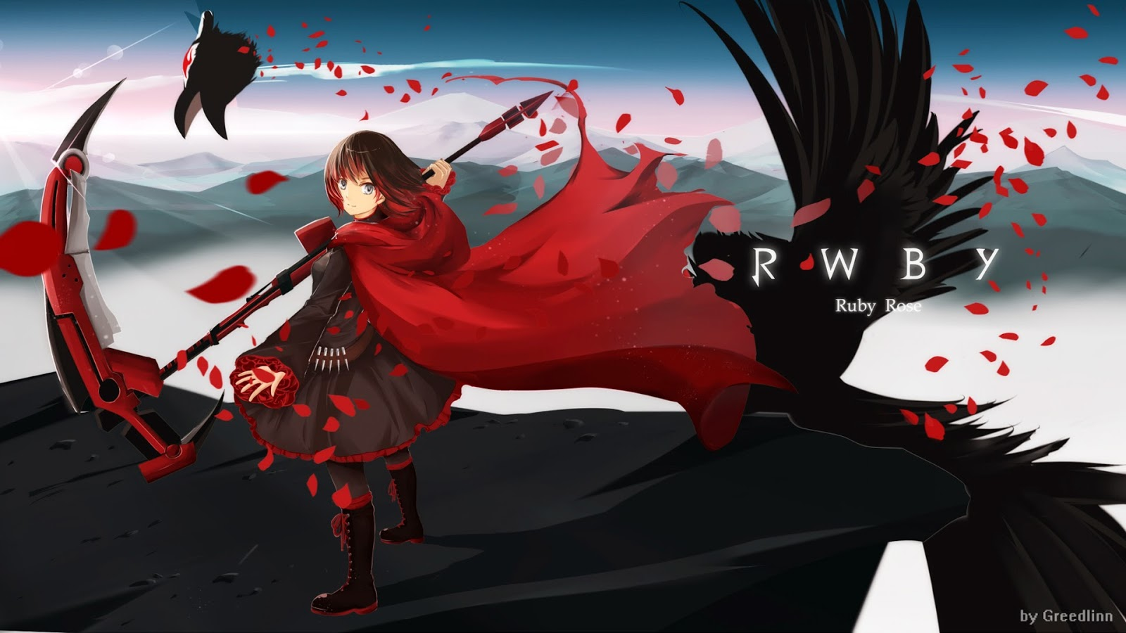 RWBY Ruby rose wallpaper hd