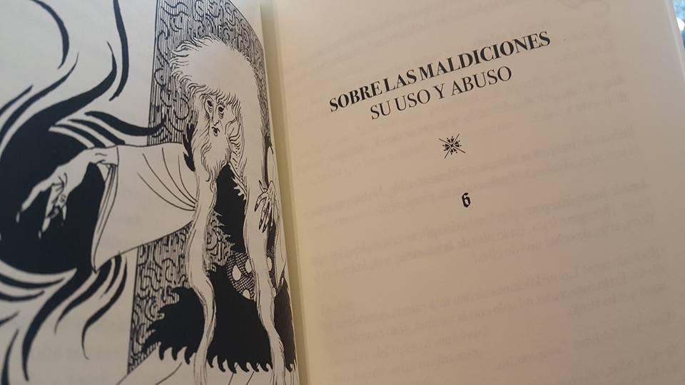Orlosto Libro de conjuros y pasajes de Cavarcalla