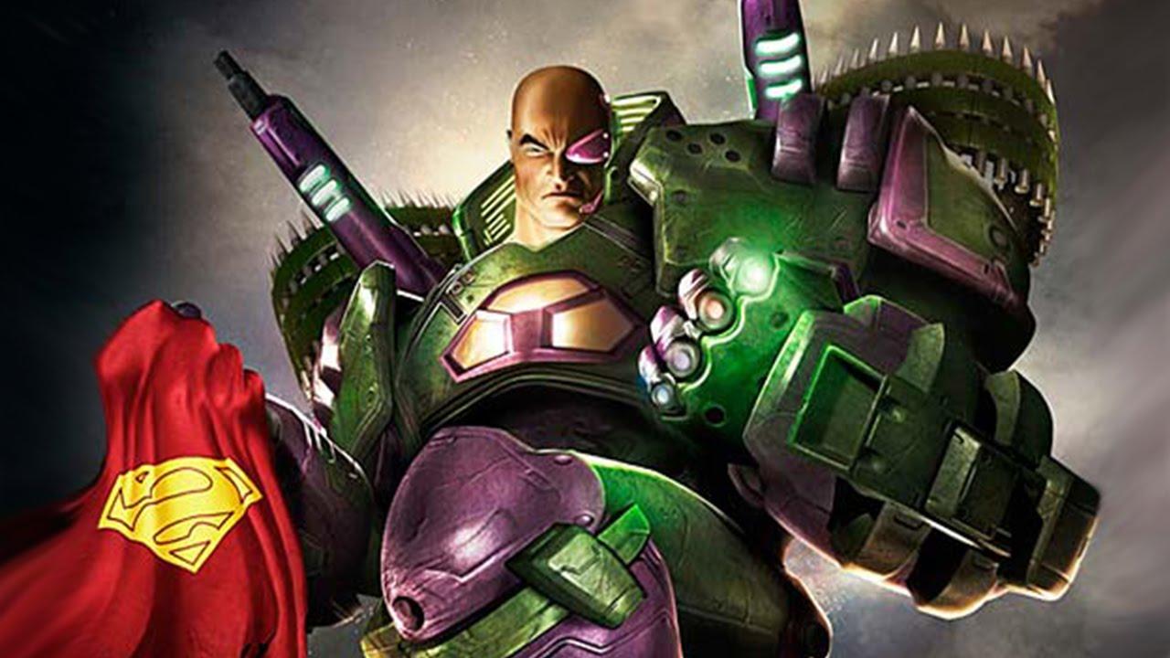 armadura lex luthor