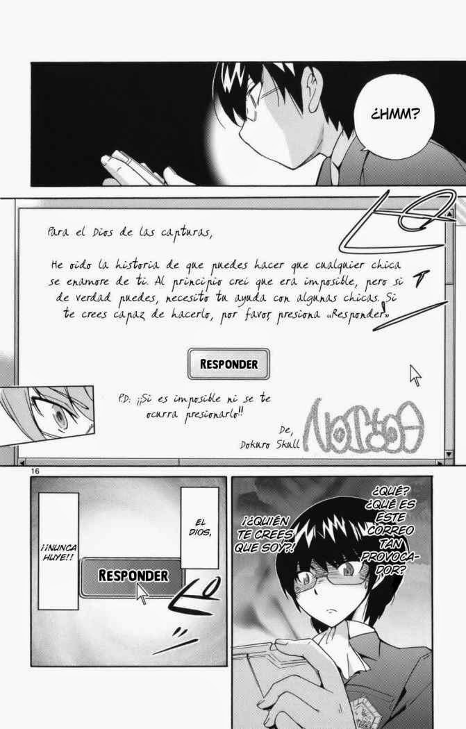 Kami Nomi Zo Shiru Sekai manga
