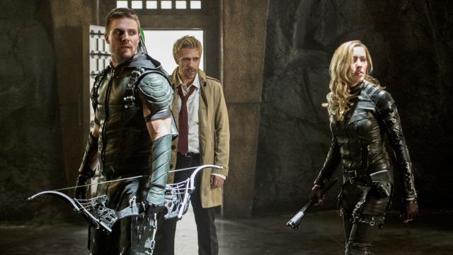 Constantine en Arrow, 2015