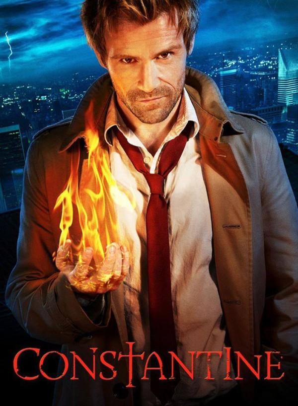 Matt Ryan como Constantine, en la serie del 2014