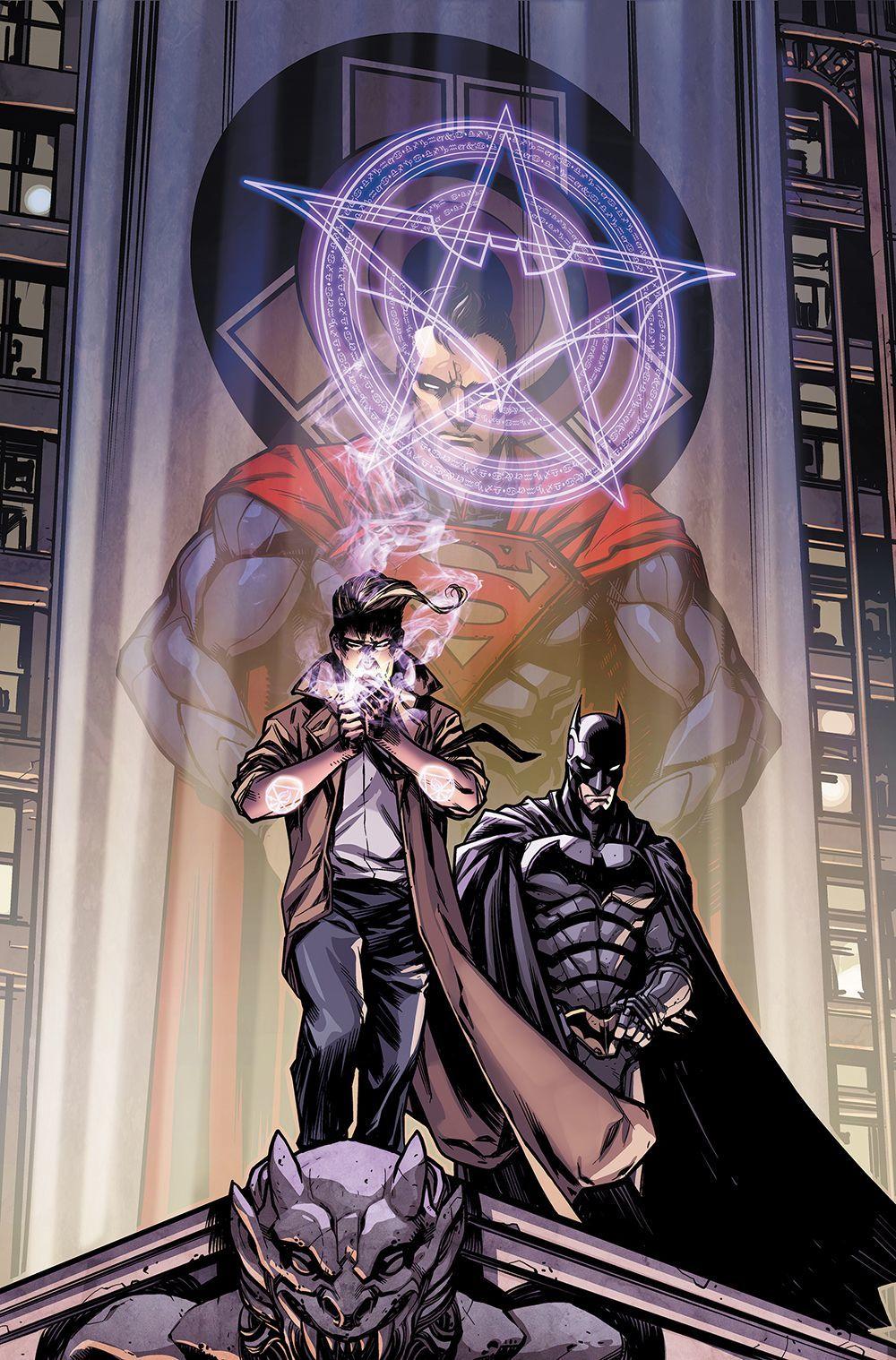 Batman siguiendo A Constantine, Injustice Año 3