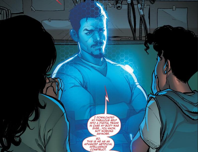 Tony Stark Inteligencia Artificial