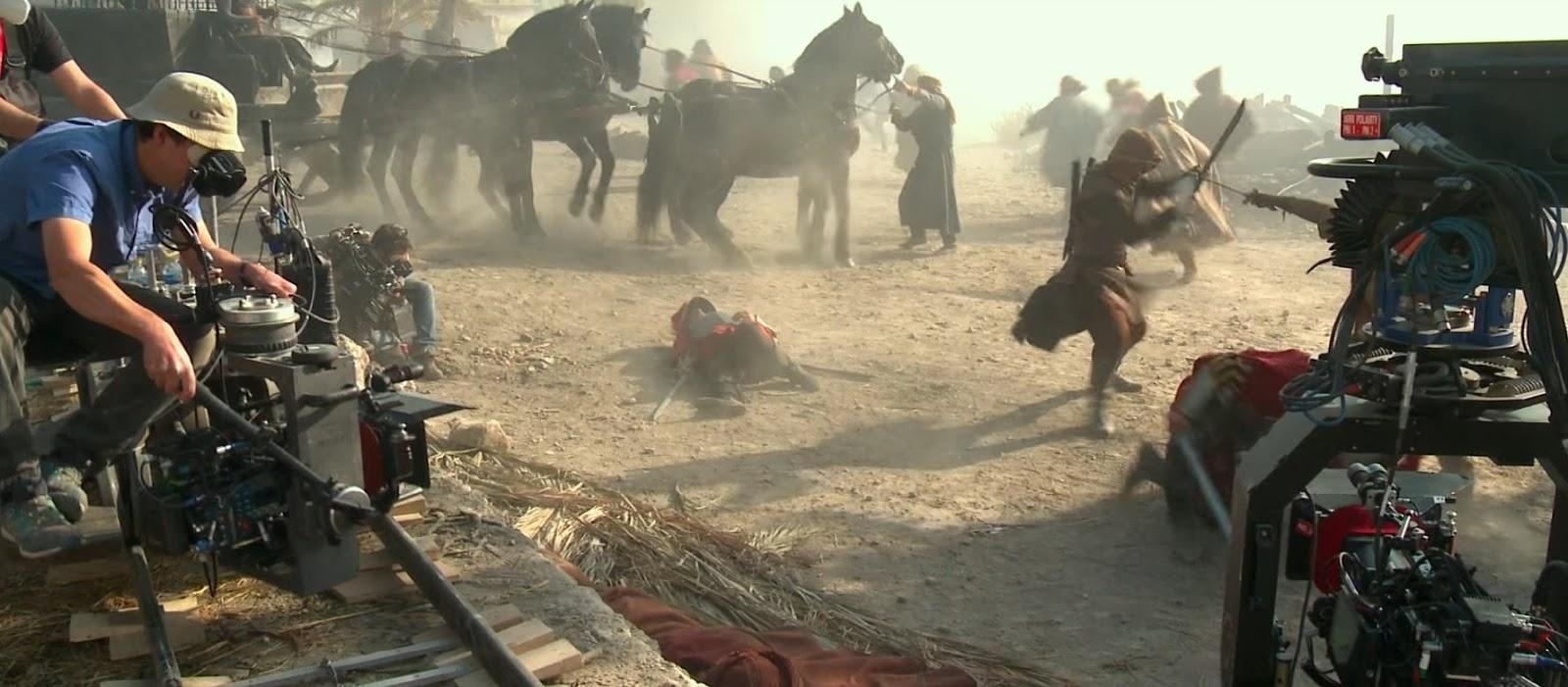 Assassin's Creed Pelicula Detrás de cámaras movie behind the scenes