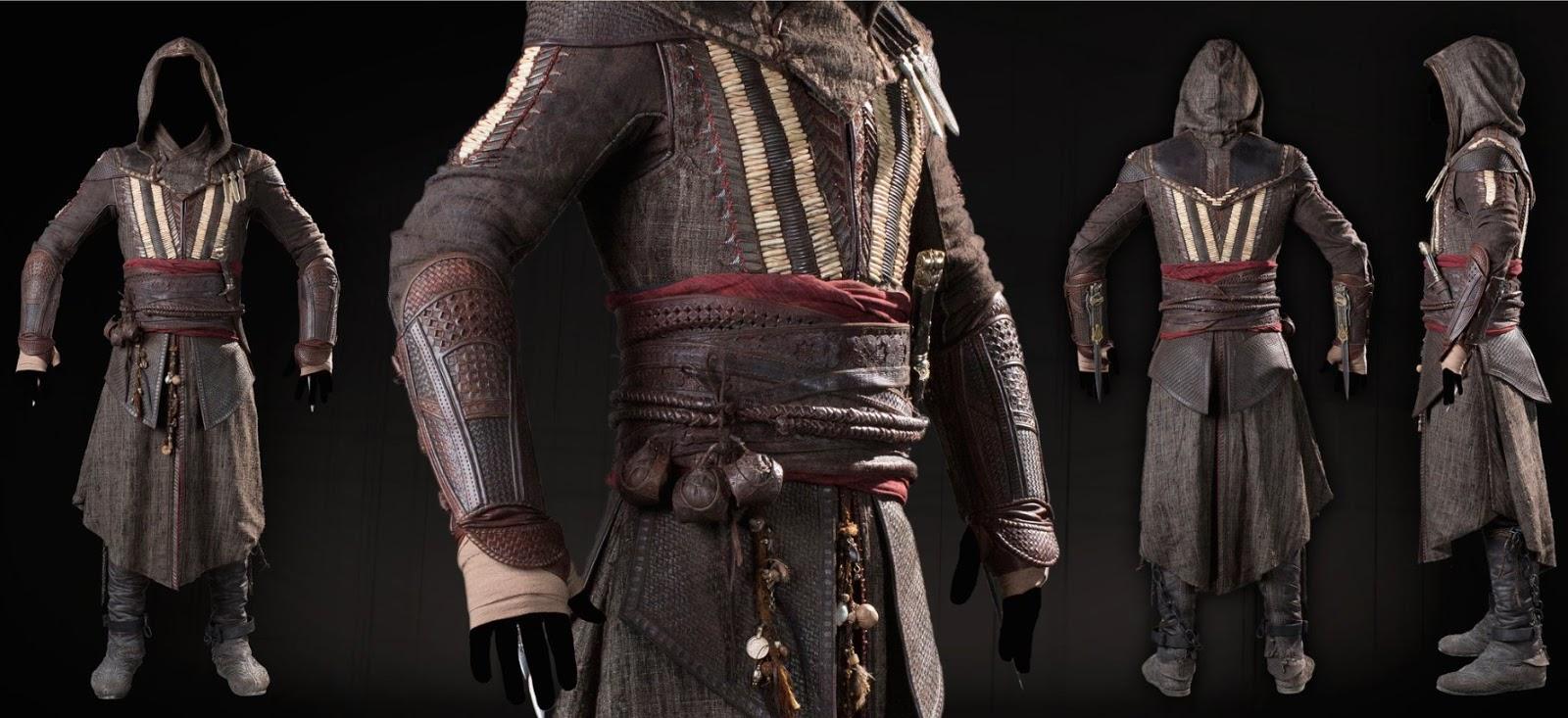 Assassin's Creed Vestuario Movie Pelicula