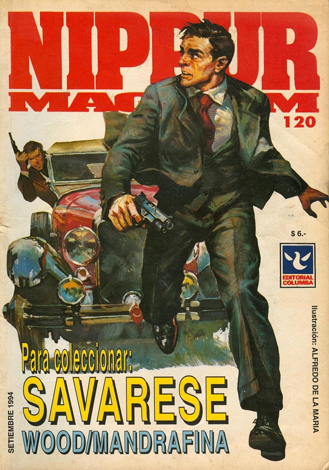 Nippur Magnum Nº120 - Editorial Columba