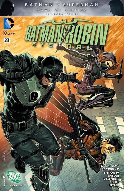 [ Reseña ] BATMAN & ROBIN ETERNAL #23