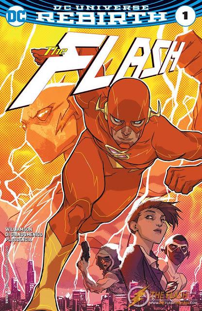 [Reseña] DC Universe REBIRTH: The Flash #1